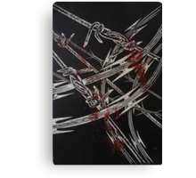 'Detention' series 2 - 3 Canvas Print