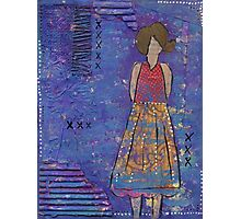 Standing Girl Photographic Print
