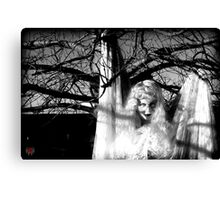 Holding on until the pain is too great Canvas Print