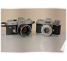 Classic Cameras Poster