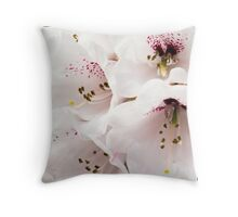 Rhododendrum Wightii Throw Pillow