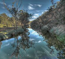 Blackwood Reflections #5, Bridgetown, Western Australia by Elaine Teague