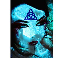 Ice Mage Photographic Print