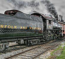 Strasburg Railway - Along the Line by Marilyn Cornwell