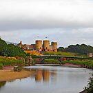Welsh Castle by sandmartin