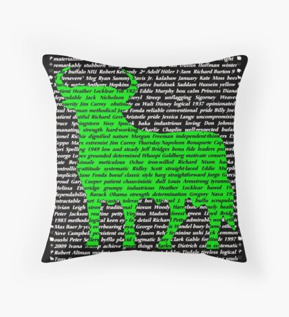 """The Year Of The Ox / Oxen / Buffalo / Cow""  Throw Pillow"