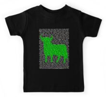 """The Year Of The Ox / Oxen / Buffalo / Cow"" Clothing Kids Tee"