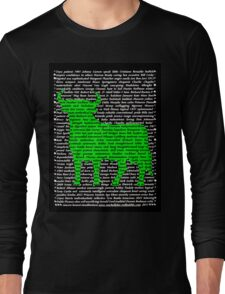 """""""The Year Of The Ox / Oxen / Buffalo / Cow"""" Clothing Long Sleeve T-Shirt"""