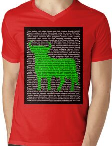 """""""The Year Of The Ox / Oxen / Buffalo / Cow"""" Clothing Mens V-Neck T-Shirt"""