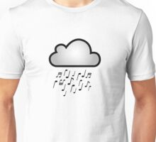 Tunes in the iCloud Unisex T-Shirt