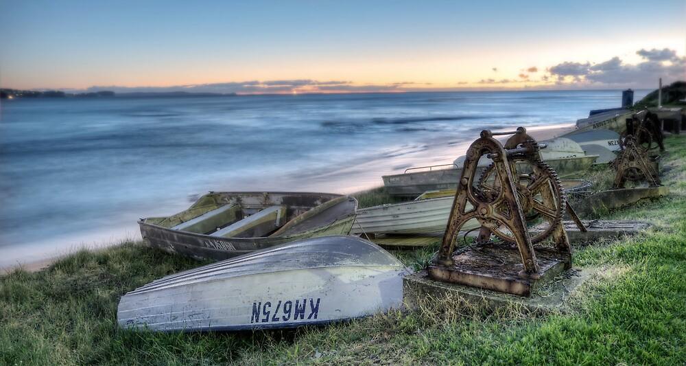 Tinnies at Dawn by Jason Ruth