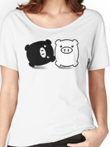 TWINPIGS 1 Women's Relaxed Fit T-Shirt