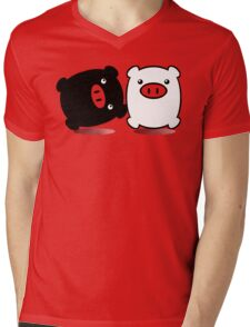 TWINPIGS 1 Mens V-Neck T-Shirt