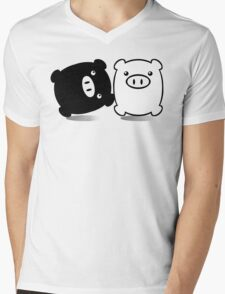 TWINPIGS 1 Mens V-Neck T-Shirt