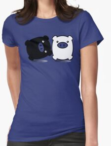 TWINPIGS 1 Womens Fitted T-Shirt