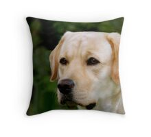 Portrait of Kasey Throw Pillow