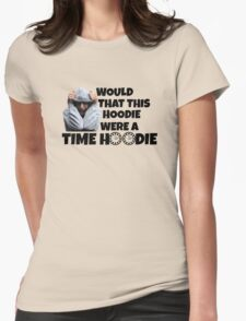 Time Hoodie Womens Fitted T-Shirt