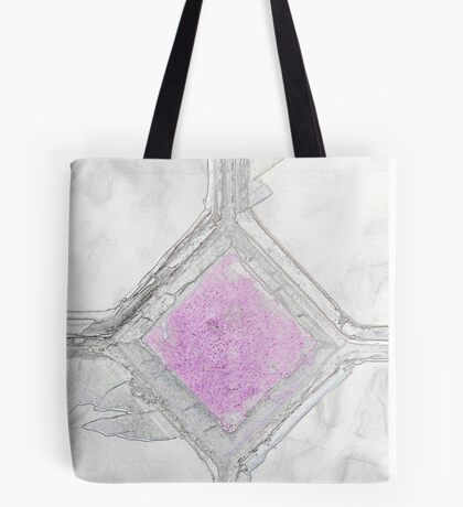 Old window with broken glass Tote Bag