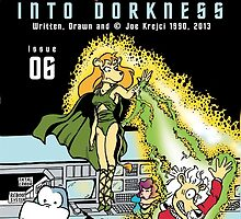 Into Dorkness Cover From Elsewhere by Joe5art