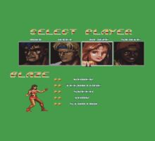 Streets of Rage 2 – Select Blaze One Piece - Short Sleeve