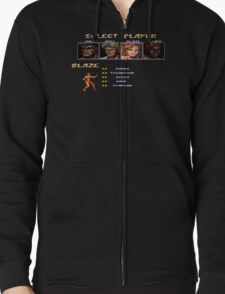 Streets of Rage 2 – Select Blaze Zipped Hoodie