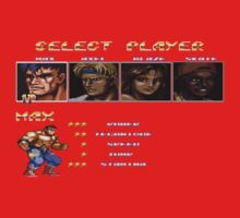 Streets of Rage 2 – Select Max Kids Clothes