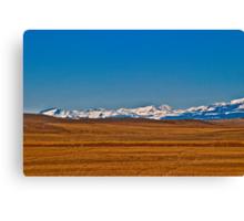 Montana Means Mountains #7 Canvas Print