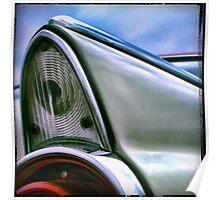 vintage car illustration Poster