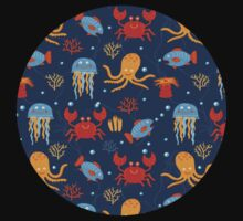 Under the sea One Piece - Short Sleeve