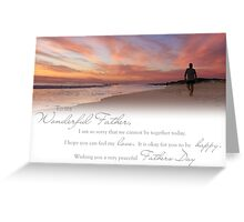 Fathers Day (Card From Child To Father) Greeting Card