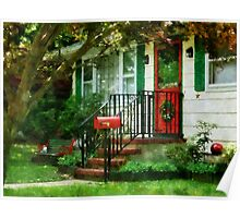 Home That Always Celebrates Christmas Poster