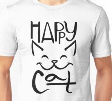Happy Cat Unisex T-Shirt