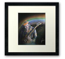 jazz bass Framed Print