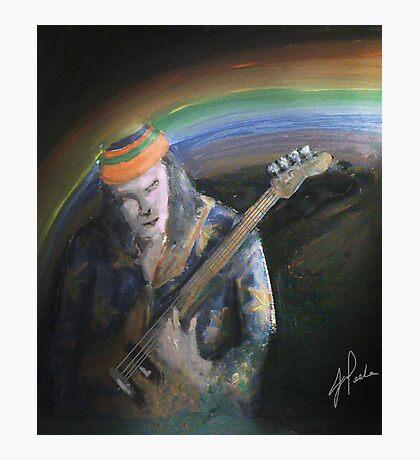 jazz bass Photographic Print