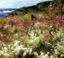 Summer Garden on La Cote d'Azur by RC deWinter
