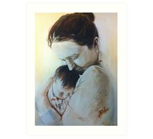 Mother's Embrace Art Print