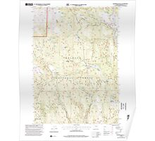 USGS Topo Map Oregon Telephone Butte 281762 1999 24000 Poster
