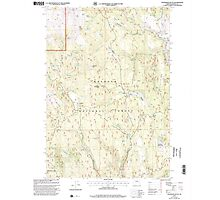 USGS Topo Map Oregon Telephone Butte 281762 1999 24000 Photographic Print
