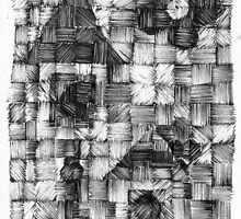 Tiny Houses - Ink Weaving - Experimental by limerick