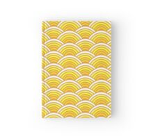 Golden Scallop Hardcover Journal