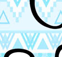 Blue Ivory Ella Sticker