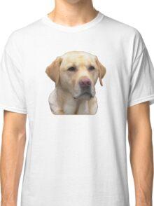 Yellow Lab Faithful Friend Classic T-Shirt