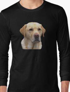 Yellow Lab Faithful Friend Long Sleeve T-Shirt
