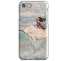 Flight of the Narwhal iPhone Case/Skin