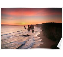 The Magnificent Twelve Apostles Poster