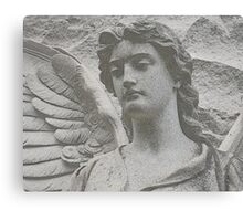 Traditional Stone Sculpture Canvas Print