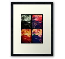 Lost in Numbers_Quadro Framed Print