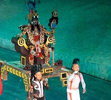 mayan ceremony by milena boeva