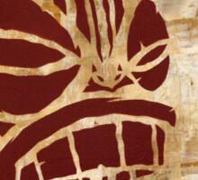 Tiki Original Painting  Sticker