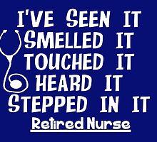 Funny Nurse Retirement by Gail Gabel, LLC